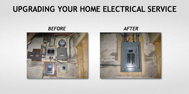 Upgrading Electrical Service | Home Electrical Wiring